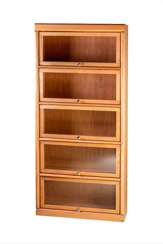 Forest Designs Bullnose Lawyers Bookcase: 36W X 12D (Choose Height. Number of doors depends on height)
