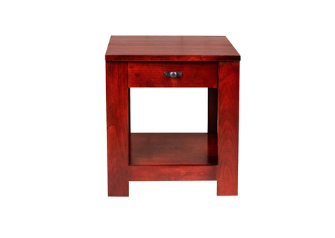 Forest Designs Urban Alder End Table: 21W X 20H X 24D