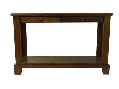 Forest Designs Shaker Sofa Table: 48W x 30H x 17D