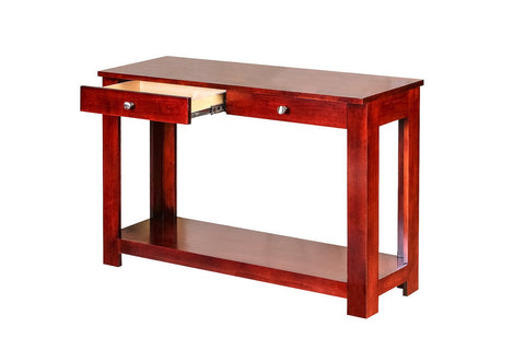 Forest Designs Urban Alder Sofa Table: 48W X 30H X 17D