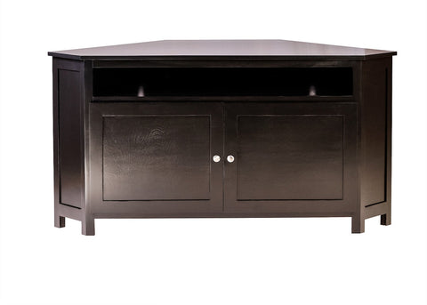 Forest Designs Urban Alder Large Corner TV Cart: 63W X 32H X 32D