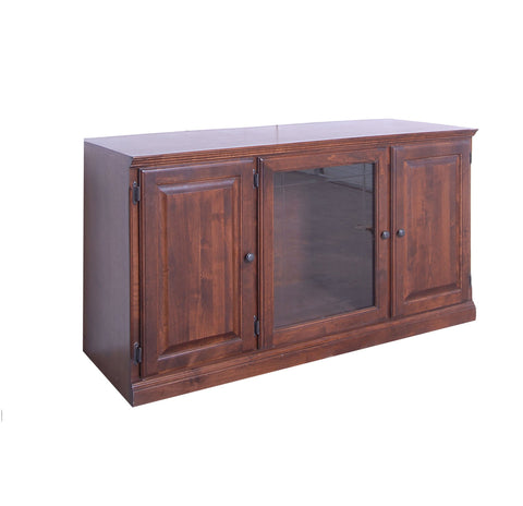 Media Stand Designs : Brown wood entertainment center media console tv stand cabinet