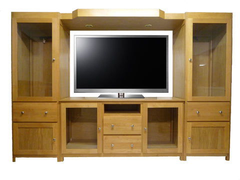 Forest Designs Urban Three Piece Wall & TV Stand