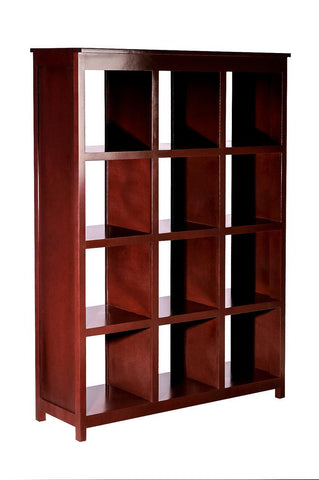 Forest Designs Urban Alder Display Bookcase 3 X 4: 48W X 67H X 17D