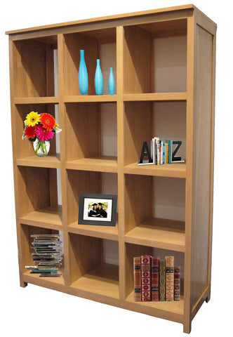 Forest Designs Urban Display Bookcase: 3 x 4: 48W x 67H x 17D