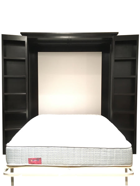 Forest Designs Traditional Alder Library Bed