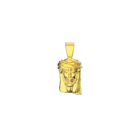 Mister Mini Jesus Piece Pendant - 14Kt - Mister SFC - Fashion Jewelry - Fashion Accessories