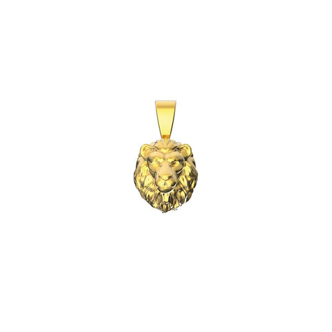 Mister Mini Lion Pendant - 14Kt - Mister SFC - Fashion Jewelry - Fashion Accessories