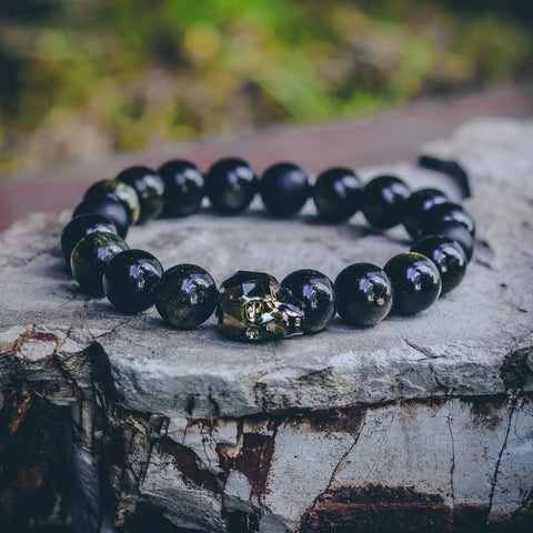 Mister Gem Skull Bead Bracelet - Luna - Mister SFC - Fashion Jewelry - Fashion Accessories