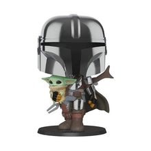 Load image into Gallery viewer, Star Wars™ The Mandalorian Chrome Pop! - 10""