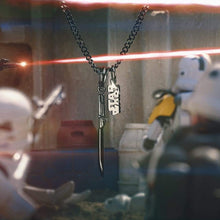Load image into Gallery viewer, Star Wars™ Darksaber Necklace