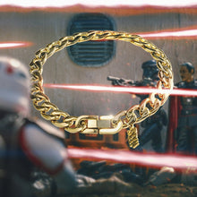 Load image into Gallery viewer, Star Wars™ Logo Curb Bracelet