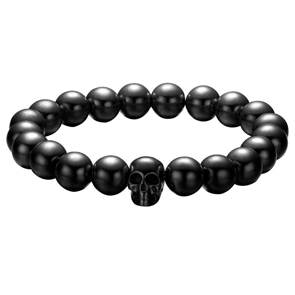 Mister Annum Plus Bead Bracelet - Steel - Mister SFC - Fashion Jewelry - Fashion Accessories