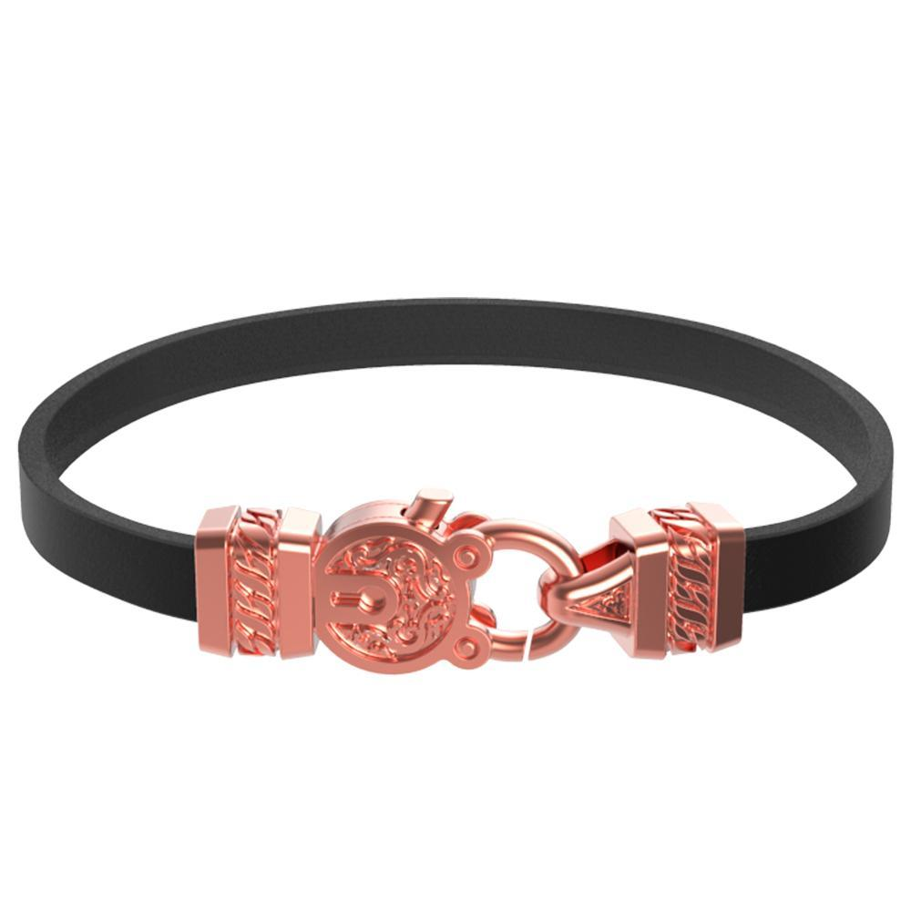 Mister Edge Leather Bracelet V1 - Mister SFC - Fashion Jewelry - Fashion Accessories