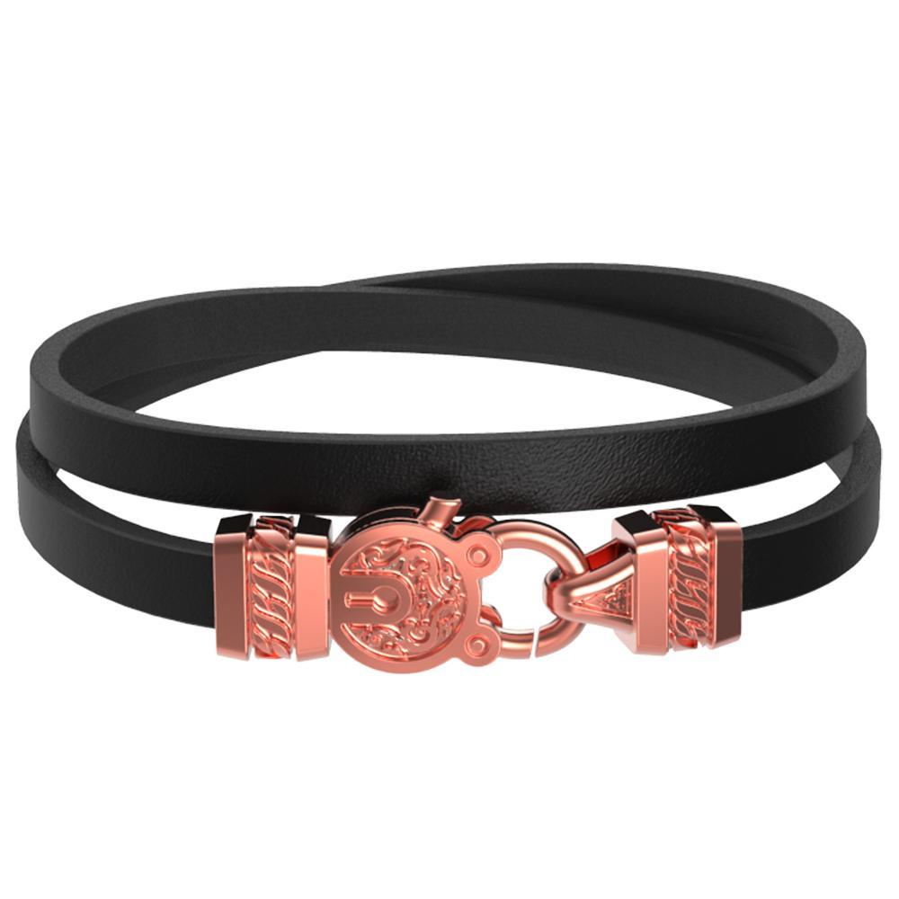 Mister Edge Leather Bracelet V2 - Mister SFC - Fashion Jewelry - Fashion Accessories