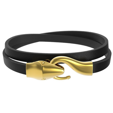 Mister Serpent Wrap Leather Bracelet V2 - Mister SFC - Fashion Jewelry - Fashion Accessories