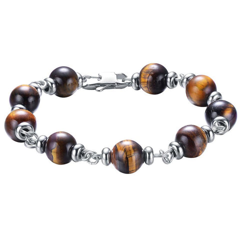 Mister Maxime Bead Bracelet - Tiger - Mister SFC - Fashion Jewelry - Fashion Accessories