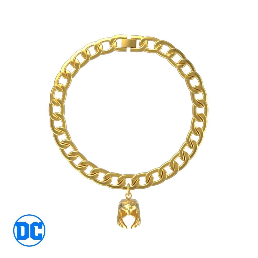 Wonder Woman™ Golden Armor Curb Bracelet