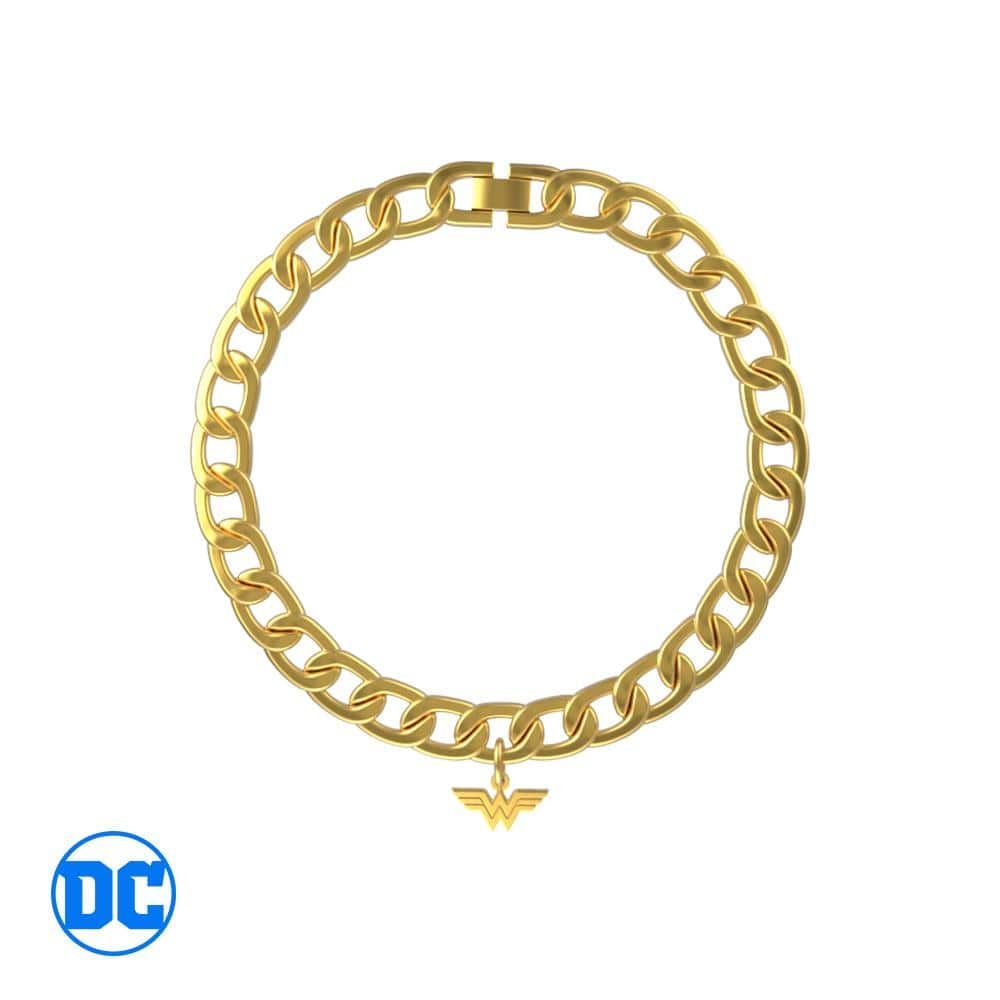 Wonder Woman™ WW Curb Bracelet