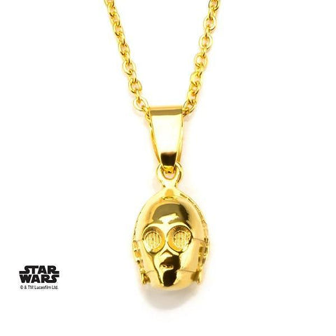 Star Wars C-3PO Necklace - Gold
