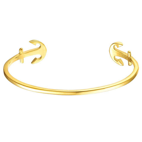 Mister Double Anchor Cuff Bracelet - Mister SFC - Fashion Jewelry - Fashion Accessories