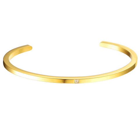 Mister Level Gem Cuff Bracelet - Mister SFC - Fashion Jewelry - Fashion Accessories
