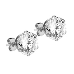 Mister Circle Stud Earrings - Chrome - Mister SFC - Fashion Jewelry - Fashion Accessories