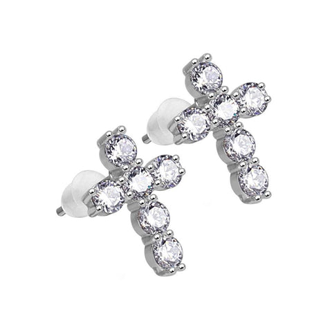 Mister Crucis Earrings - 925