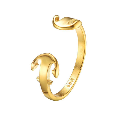 Mister Double Anchor Ring - Mister SFC - Fashion Jewelry - Fashion Accessories