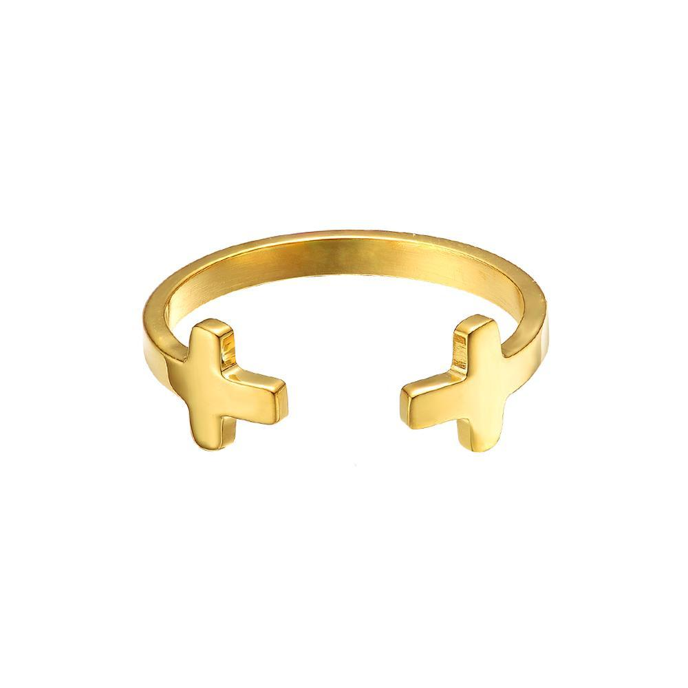 Mister Double Cross Ring - Mister SFC - Fashion Jewelry - Fashion Accessories