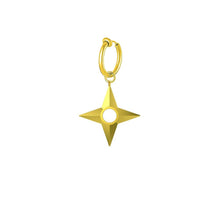 Load image into Gallery viewer, Mister Shuriken Earring (Non-Pierced Ears)