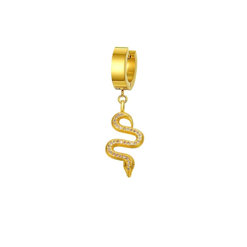 Mister Serpentine Earring
