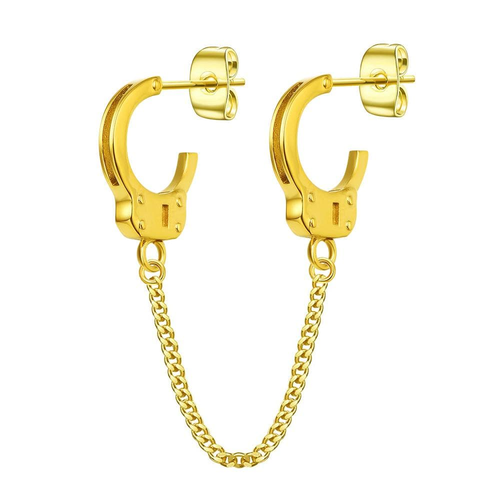 Mister Handcuff Earrings