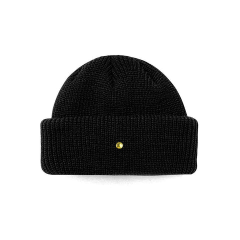Mister Roll Cuff Beanie - Black - Mister SFC - Fashion Jewelry - Fashion Accessories