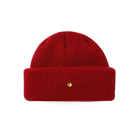 Mister Roll Cuff Beanie - Red - Mister SFC - Fashion Jewelry - Fashion Accessories