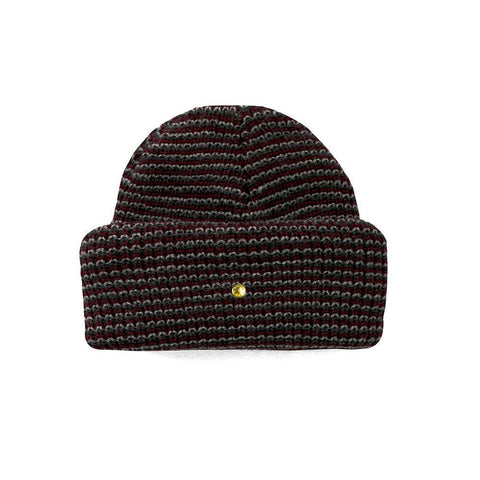 Mister Beanie - Striped Maroon - Mister SFC - Fashion Jewelry - Fashion Accessories