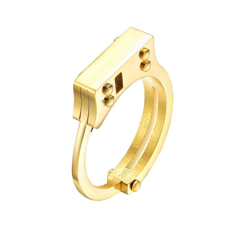 Mister Handcuff Ring - Mister SFC - Fashion Jewelry - Fashion Accessories