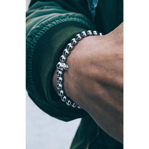 Mister Annum Bead Bracelet - Chrome - Mister SFC - Fashion Jewelry - Fashion Accessories