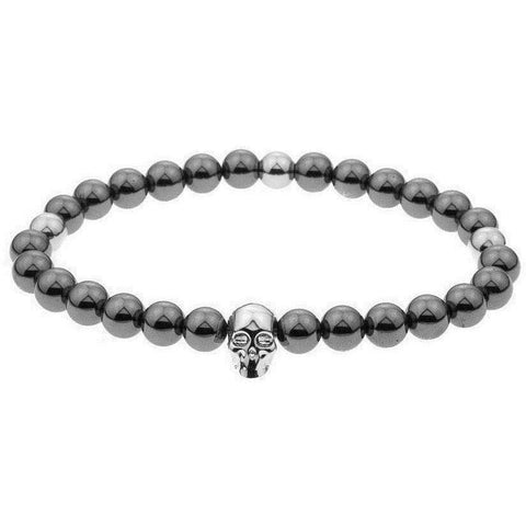 Mister Annum Bead Bracelet - Gunmetal & Chrome/Chrome - Mister SFC - Fashion Jewelry - Fashion Accessories