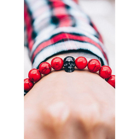 Mister Annum Plus Bead Bracelet - Red - Mister SFC - Fashion Jewelry - Fashion Accessories