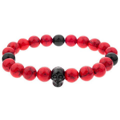 Mister Annum Plus Bead Bracelet - Red
