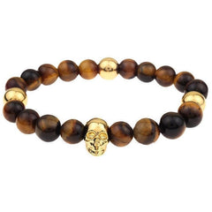 Mister Annum Plus Bead Bracelet - Tiger & Gold - Mister SFC - Fashion Jewelry - Fashion Accessories