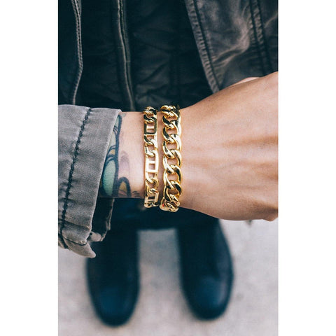 Mister Arc Bracelet - Gold - Mister SFC - Fashion Jewelry - Fashion Accessories