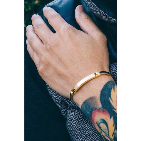 *Mister Axle ID Bracelet - Gold - Mister SFC - Fashion Jewelry - Fashion Accessories
