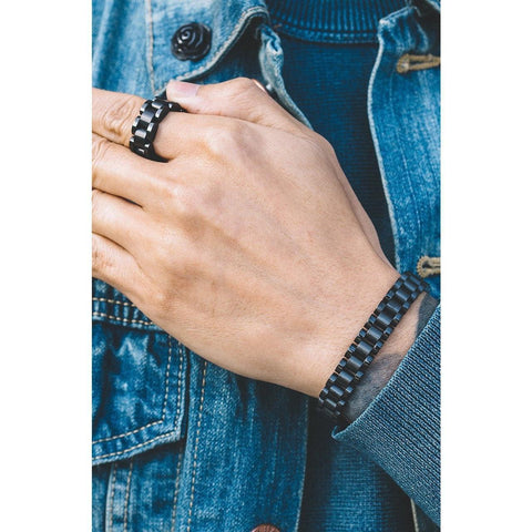 Mister  Band Ring - Noir - Mister SFC - Fashion Jewelry - Fashion Accessories