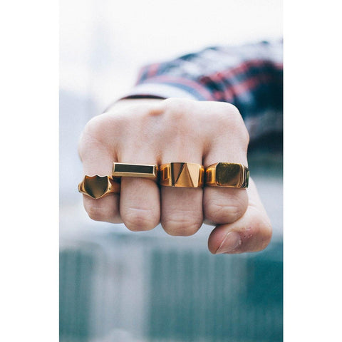 Mister  Bar Ring - Gold - Mister SFC - Fashion Jewelry - Fashion Accessories