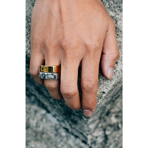 Mister Bars Ring - Gold-RING-Mister SFC