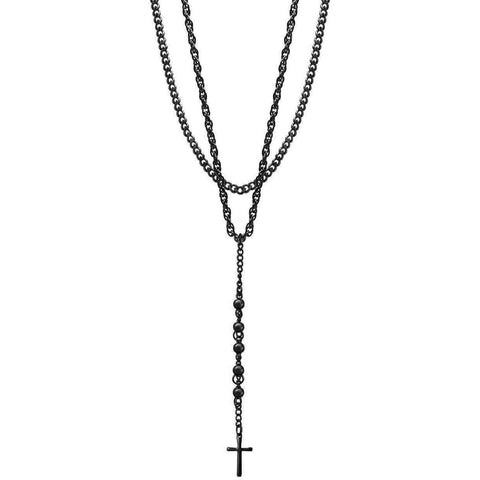 Mister Bless Necklace - Black - Mister SFC - Fashion Jewelry - Fashion Accessories