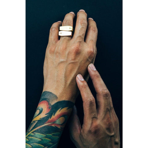 Mister Coffin Ring - Gold-RING-Mister SFC