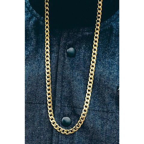 Mister Curb Chain - Gold - Mister SFC - Fashion Jewelry - Fashion Accessories